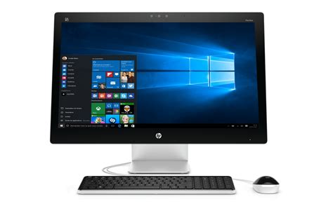 pc bureau leclerc pc de bureau hp pavilion 27 n205nf 4217454 darty
