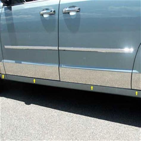 dodge grand caravan chrome rocker panels