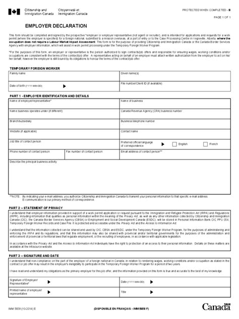 employee declaration form   templates   word