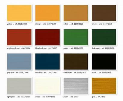 Colour Chart Paint Oil Charts Stand Kreidezeit