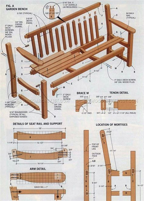outdoor bench plans garden bench plans woodarchivist