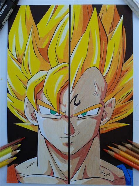 Majin L Vs Goku by Goku Vs Majin Vegeta By Freekatana On Deviantart