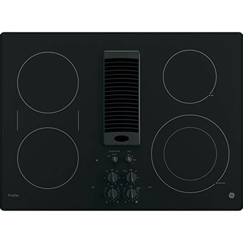 ge induction cooktop 30 ge pp9830djbb profile 30 quot black electric smoothtop cooktop