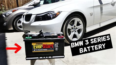 Bmw Battery Replacement by Bmw E91 Battery Replacement E90 E92 E93 325i 328i 330i