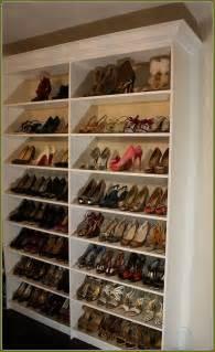 Closet Shoe Racks by 52 Shoe Shelves Plans Shoe Shelves For Closets Diy