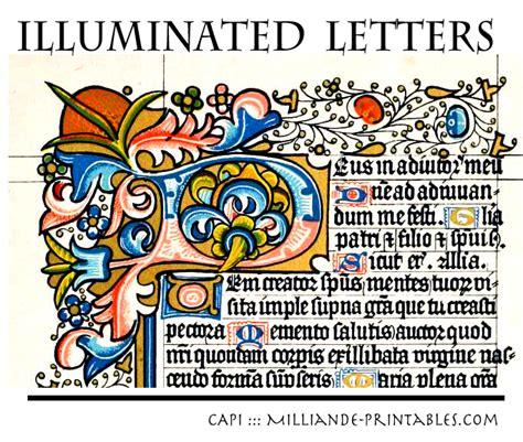 Illuminated Alphabet Templates by 10 Best Images Of Manuscript Printable Alphabet