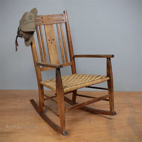 arts crafts rocking chair antiques atlas