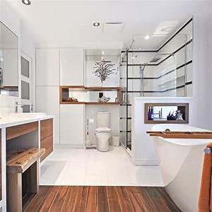 Salle De Bain Avant Après : agrandissement 2 en 1 pour la salle de bain salle de ~ Mglfilm.com Idées de Décoration