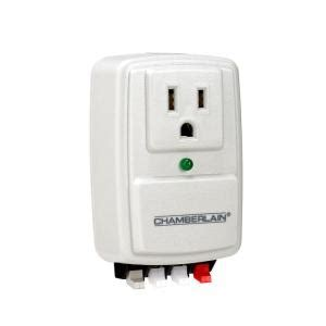 Garage Door Opener Power Surge by Chamberlain System Surge Protector Clss1 The Home Depot