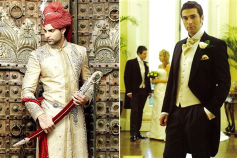 Wedding Accessories For Men : Indian Wedding Accessories For Groom, Traditional Western