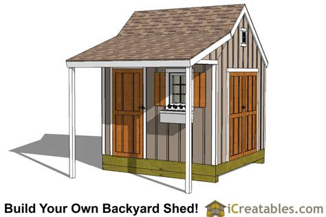 shed plans 8 x 10 10x10 shed plans storage sheds small barn designs