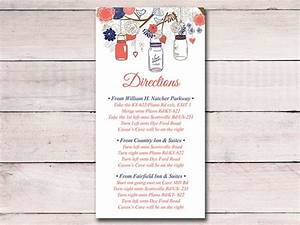 17 best ideas about wedding direction cards on pinterest With direction inserts for wedding invitations templates