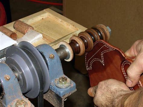 burnishing  cocobolo leather burnishing wheel knife