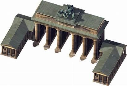 Gate Brandenburg Landmarks Simcity Wiki Trademark