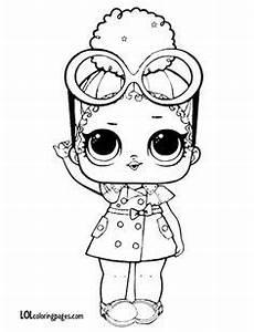 LOL Surprise Dolls Coloring Pages Lil Cosmic Queen FELT