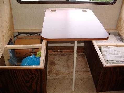 rv dining table replacement used rv booth and table autos post