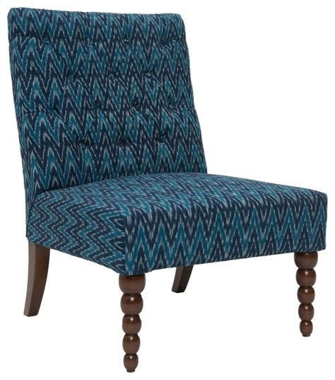 dalhousie button tufted chair eclectic armchairs