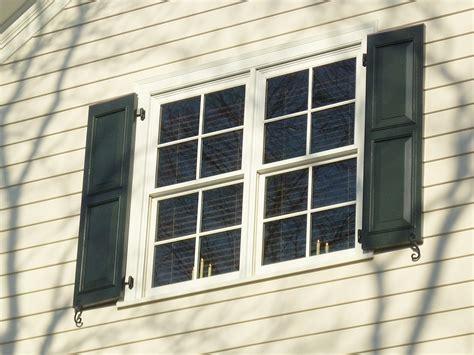 modern shutters  exterior windows madison art center design