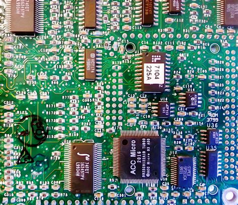 Electronic Circuit Board Free Stock Photo Public Domain