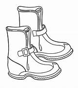 Boots Coloring Winter Solid Season Pages Wear Rain Snow Clipart Template Shoes Clip Baby Netart Print Templates Library Comments sketch template
