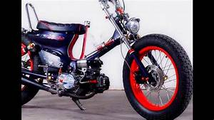 Modifikasi Honda Astrea Grand Custom Street Cub Chopper