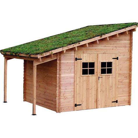 une toiture végétale pour mon abri de jardin lorraine magazine