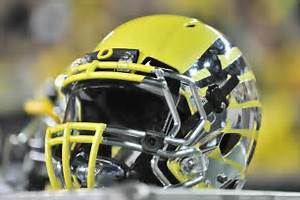 One of the most spectacular helmets in Oregon football history, worn ... Oregon