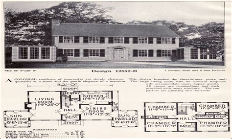 Colonial Revival House Plans by Colonial Revival House Interior 1920 Colonial