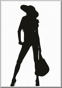 The gallery for --> Woman Grocery Shopping Silhouette
