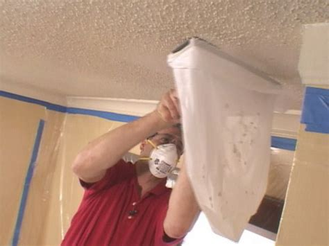 Scraping Popcorn Ceiling by How To Remove A Popcorn Ceiling