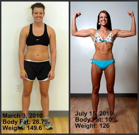 Whitneys Weight Loss Success From 287 Body Fat To 10