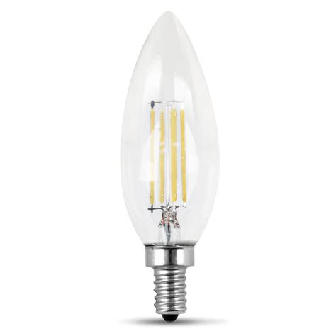 led light daylight feit electric 60 watt equivalent daylight b10 dimmable