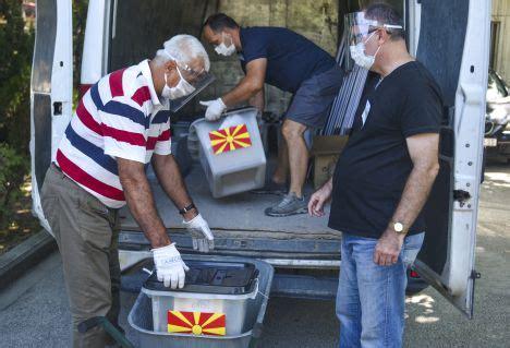 Ziemeļmaķedonija aizvada pirmās vēlēšanas kopš nosaukuma ...