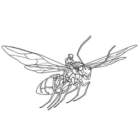 Kleurplaat Mier by Leuk Voor Ant Op Een Vliegende Mier