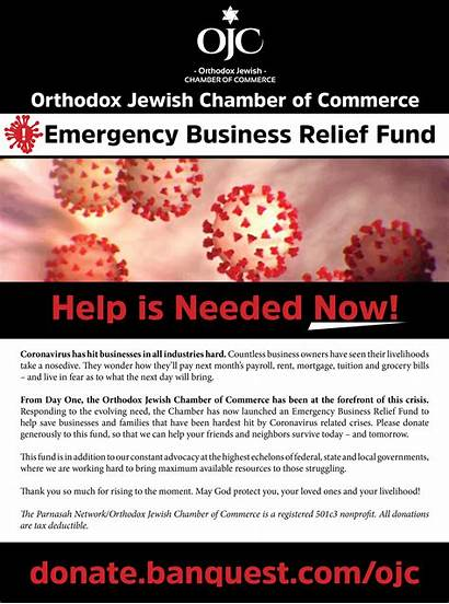 Relief Fund Covid Emergency Business Commerce Chamber