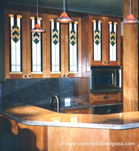 stained glass kitchen cabinets cabinet stained glass traditional kitchen denver 5696