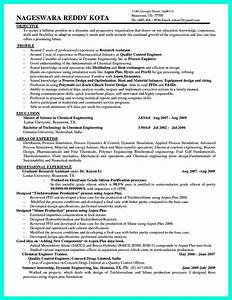 awesome successful objectives in chemical engineering With chemical engineer resume template
