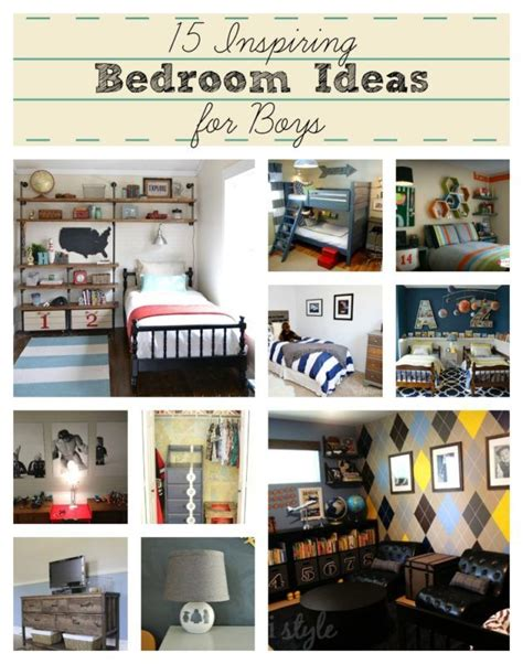 sports themed bedrooms ideas  pinterest boys