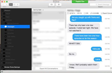 how to sync messages from iphone to mac 3 easy ways to sync iphone text messages