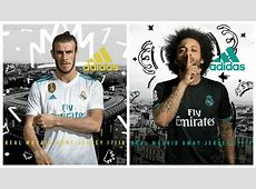Real Madrid 201718 adidas Home and Away Kits – FOOTBALL
