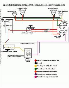Headlamp Relay Wiring Diagram