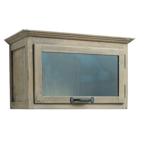 meuble haut cuisine bois meuble haut de cuisine ouverture gauche en bois recyclé l