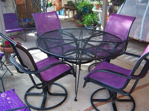 32259 new outdoor furniture favored my favorite color on purple glass purple and