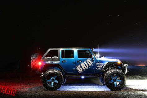 jeep matte blue grid offroad gf9 blue matte black jeep wrangler jk