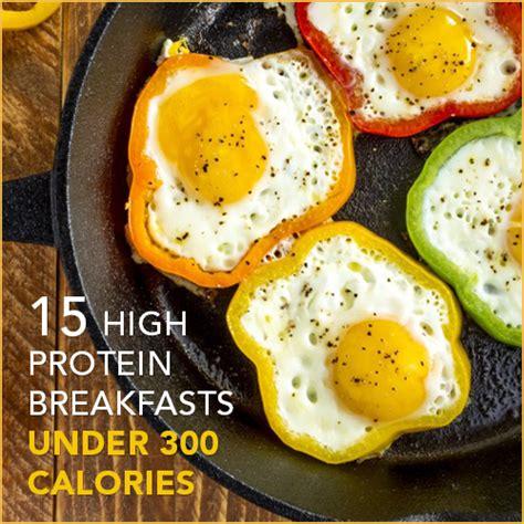 low breakfast 15 high protein low calorie breakfasts get healthy u