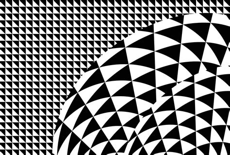Tapisserie Pour Chambre Ado - poster à motifs géomètriques noir et blanc