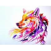 ... drawings, illustrations, inspiration, inspired, paint, painting, wolf