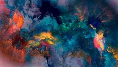 Acrylic Texture Colorful Abstract 4k Artistic 1080