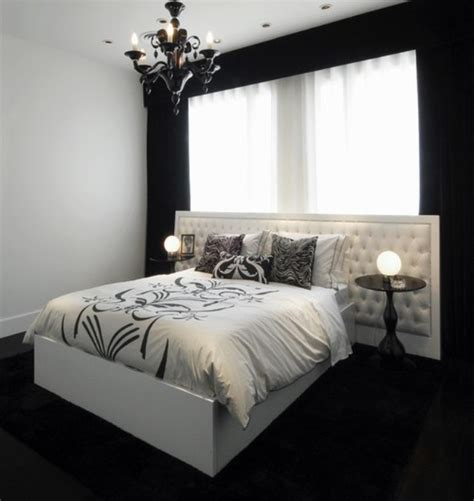 wall painting designs black and white 35 timeless black and white bedrooms that how to Bedroom
