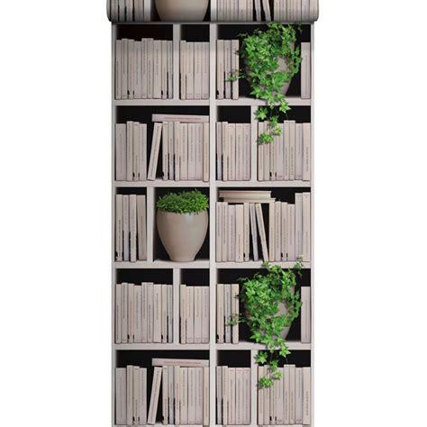 papier peint vinyle sur intiss 233 biblioth 232 que lierre 233 cru larg 0 53 m leroy merlin ted